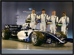 Williams Team, Formuła 1, bolid
